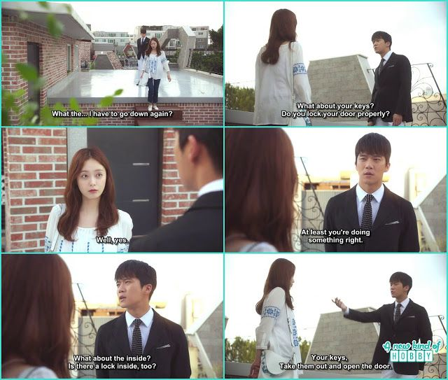 jae in ask da hyun for the keys as he wanted to check if the house is secure or not - Something About 1 Percent - Episode 5 (Eng sub) ha seok jin ...