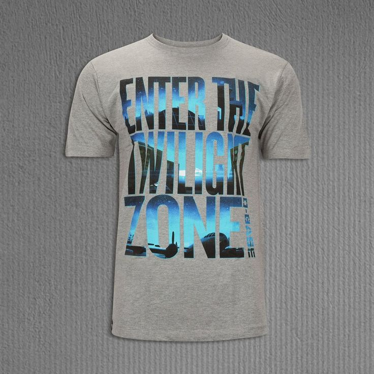 Q-BASE T-SHIRT ENTER THE TWILIGHT ZONE WITH TEXT GREY, MEN | Q-dance Store