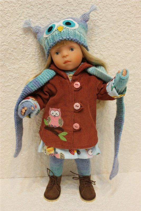 Красиво одеваться любят все! Мода для кукол Minouche от Sylvia Natterer, Kathe Kruse. Часть первая. / Другие интересные игровые куклы для девочек / Бэйбики. Куклы фото. Одежда для кукол