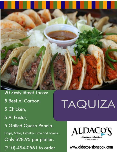 Taquiza anytime aldaco 39 s my restaurant pinterest for Aldacos mexican cuisine