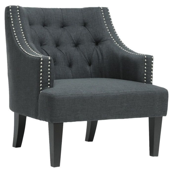 Bon Tufted And Studded Armchair