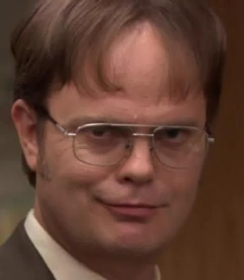 Dwight K. Schrute, The Office (character created by Ricky Gervais and Stephen Merchant, written by Greg Daniels, Mindy Kaling, Caroline Williams, Anthony Q. Farrell, Paul Lieberstein, Lee Eisenberg, Gene Stupnitsky, B.J. Novak, Jennifer Celotta, Michael Schur, Brent Forrester, Justin Spitzer, Charlie Grandy, et. al.)