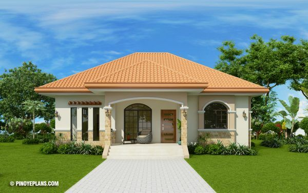 Shd 2018039 Pinoy Eplans Bungalow Style House Bungalow House Design Simple Bungalow House Designs