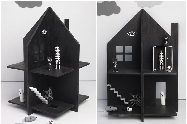 Кукольный домик для детей своими руками. Дом с привидениями | Baby journal