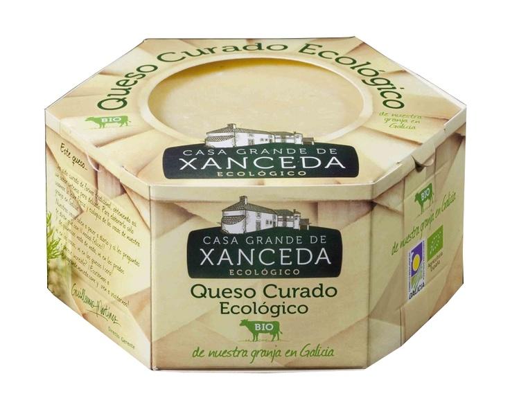 Queso Ecológico Curado CASA GRANDE DE XANCEDA / Organic Aged Cheese CASA GRANDE DE XANCEDA