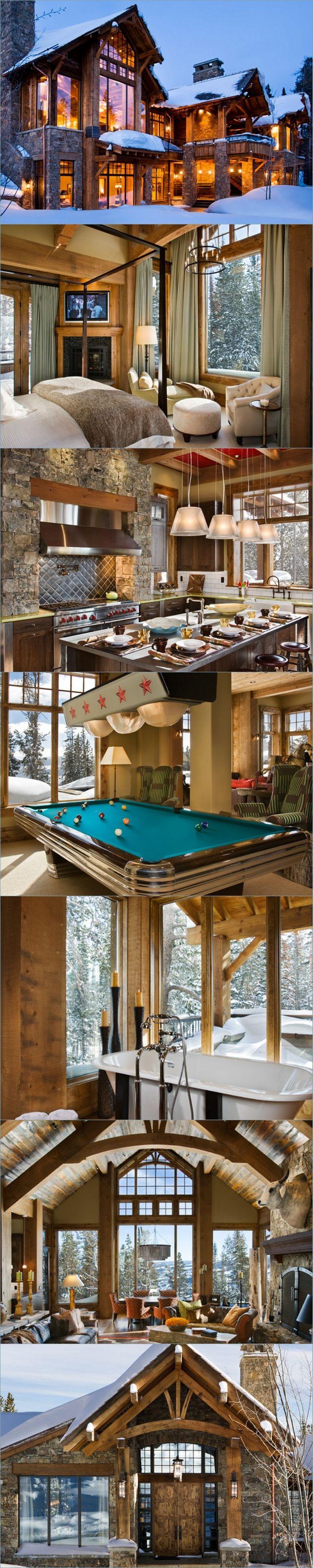 Beartrap Residence: Yellowstone Club, Big Sky, MT by Locati Architects