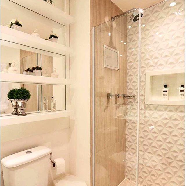 1000+ ideas about Banheiro Com Porcelanato on Pinterest  Decoração banheiros -> Banheiros Decorados Ceramica Portinari