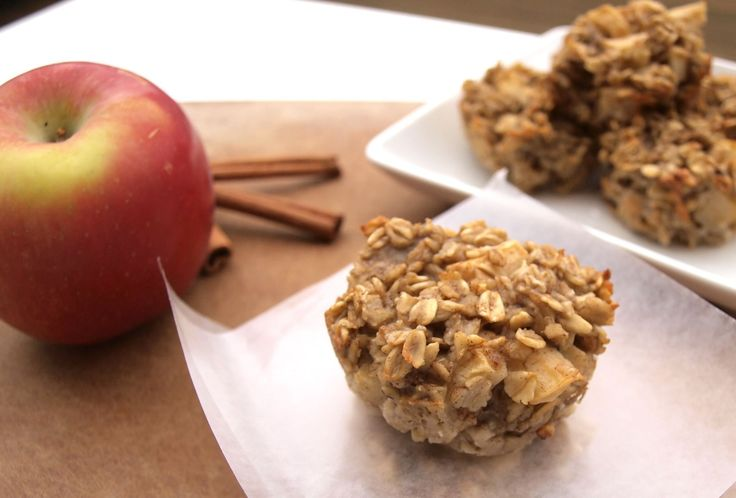 What we have here is the perfect apple-cinnamon oatmeal breakfast.  To go. When I made my Double Chocolate Strawberry Baked Oatmeal Cups this summer, I promised that more flavors of these portable breakfast cups would be coming out of my kitchen. Here's the fall version that is absolutely wonderful with a strong cup of black …