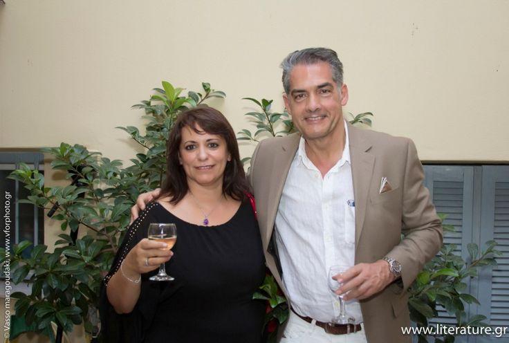 Με τον Φίλιπ Κερ στην απονομή των Βραβείων Literature.gr