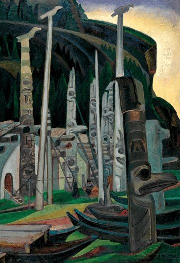 Emily Carr, Vancouver Island, B.C.