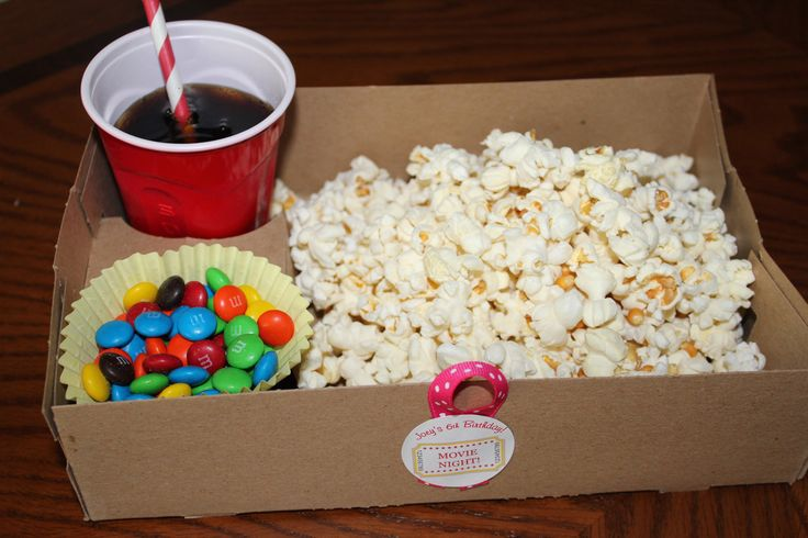 Make your own movie theater-style snacks for your next movie night.