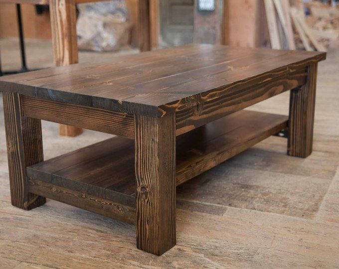 43+ Solid wood farmhouse coffee table best