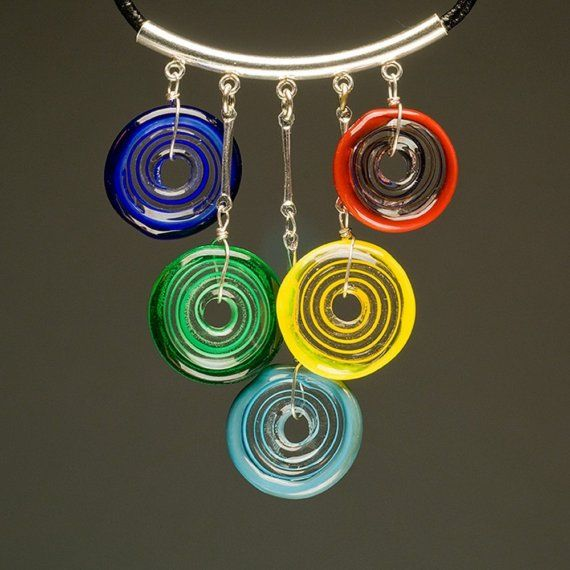circle of life necklace on etsy glass beadsbead of