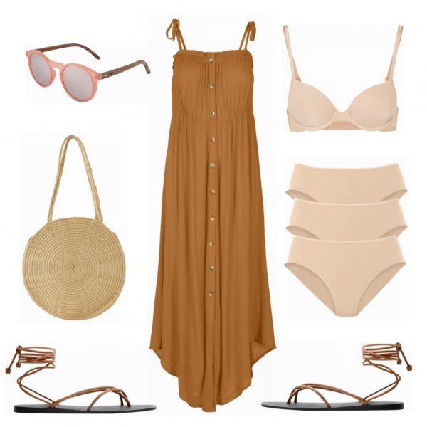 Sommer-Outfits: Mango braun bei FrauenOutfits.de #mode #damenmode #frauenmode #o…