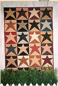 Harbor Stars Quilt Pattern  Country Threads