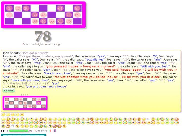 Joan and you call 'house' - Firefox on Windows7
