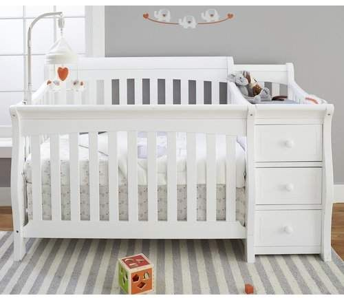 Sorelle Princeton Elite 4 In 1 Convertible Crib And