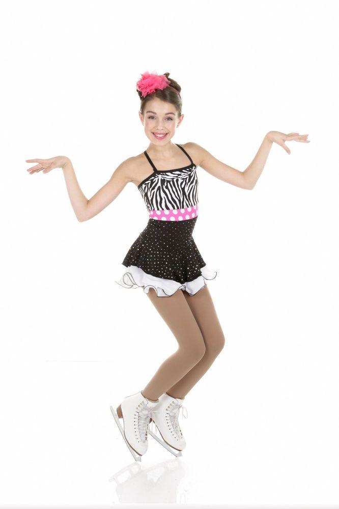 New Elite Xpression Figure Skating Dress D292-ZEB Made on Order