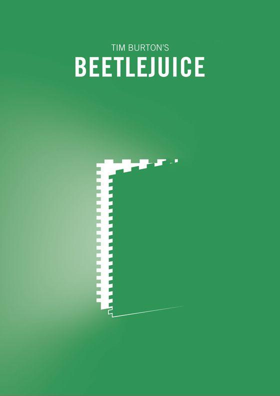 Beetlejuice (1988) ~ Minimal Movie Poster by EnricandDestroy #amusementphile