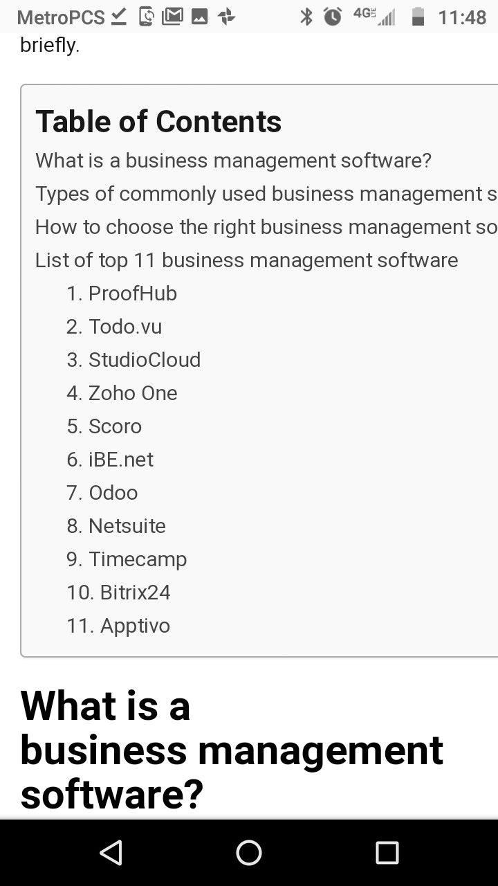 Pin By Toni Kaid On Clean Catchers Business Management Zoho Table Of Contents
