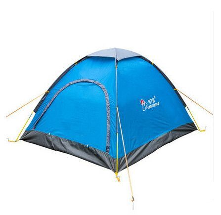 new arrival camping waterproof tents in camping tent 2 person the family tents belt tent pole windproof outdoor equipment