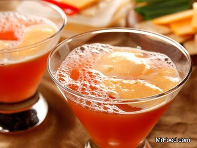 Celebration Punch (See Note After Recipe For Non-Alcoholic Version)  ~ mrfood.com