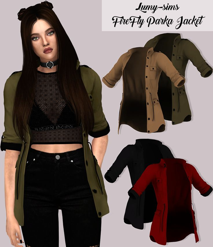 Firefly Parka Jacket25 Swatches Located in Bracelet Category Custom Catalog Thumbnails Download on my website