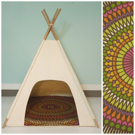 1000 images about teepee on pinterest for dogs dog for Diy cat teepee