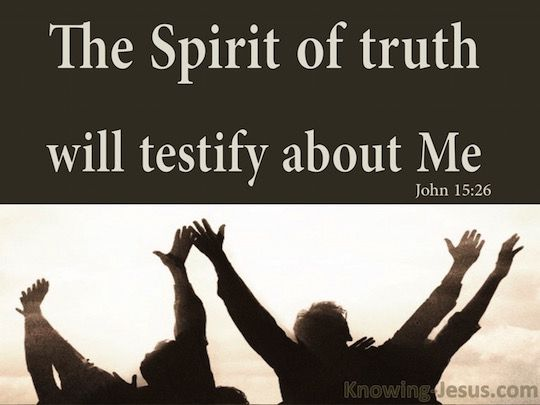 5 *** @@@ Picture John 15:26 – Verse of the Day