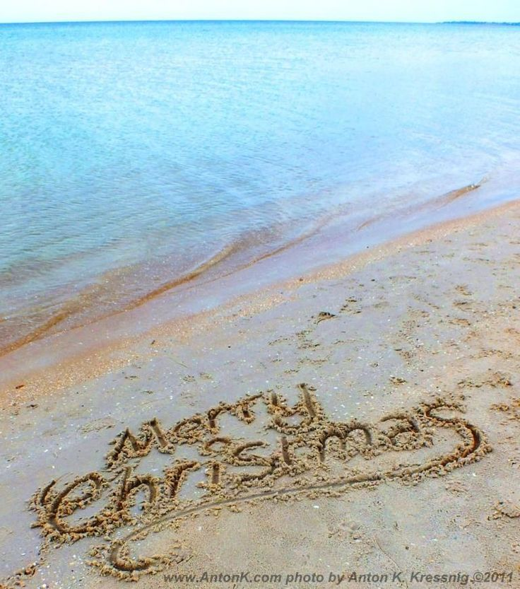 happy new year beach images   The Worlds 1st SMS text message Merry Christ