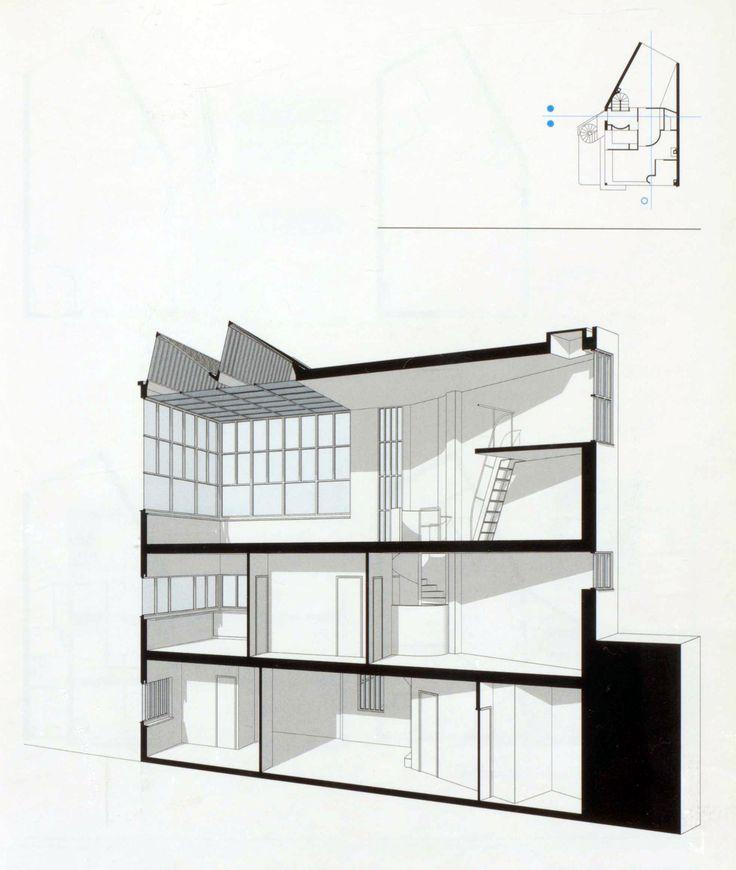 A Paris Apartment And A Paris Graphic: Maison Atelier Ozenfant Drawing