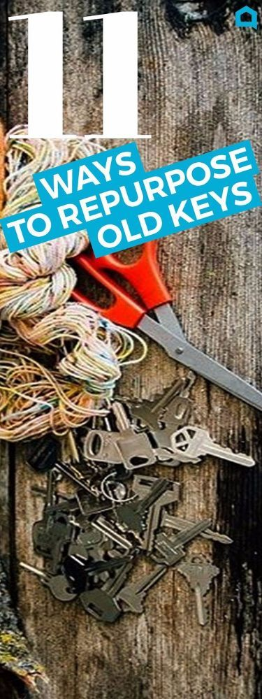 11 Genius Things People Do With Their Old Keys. If you have some old keys lying around, you're going to want to try one of these