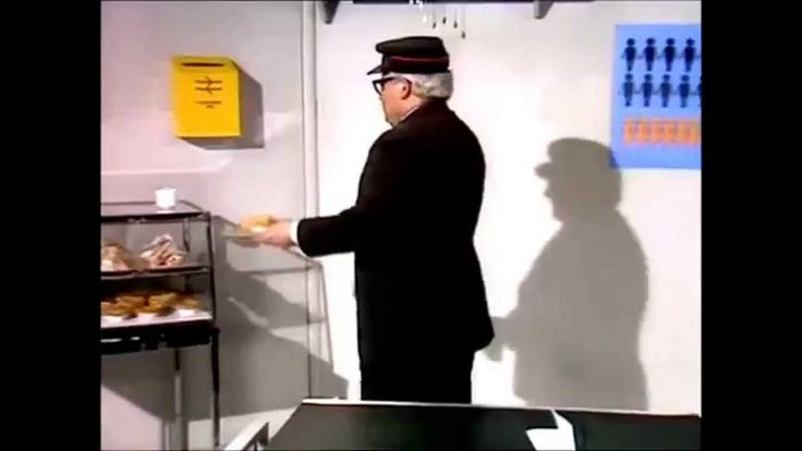 Ronnie Barker - British Rail
