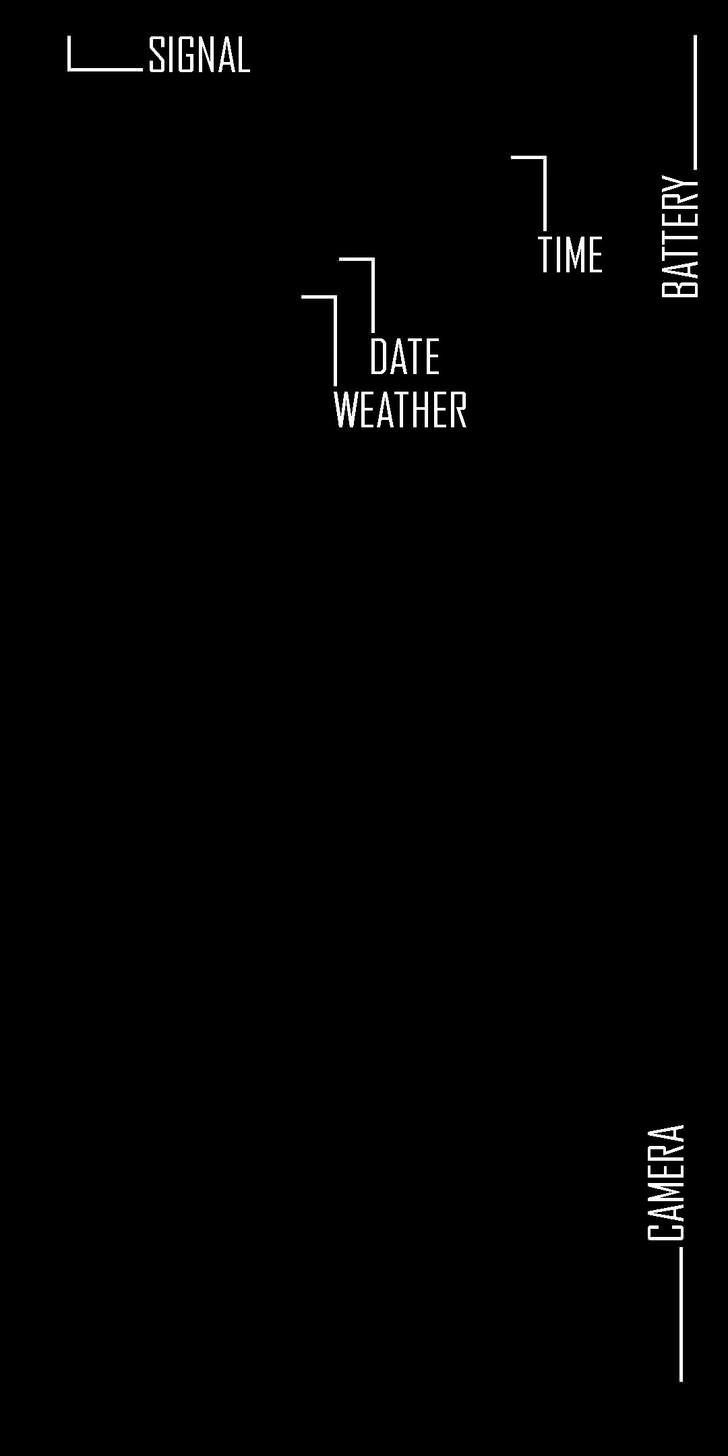 Latest List Of Good Looking Black Lock Screen For Iphone X