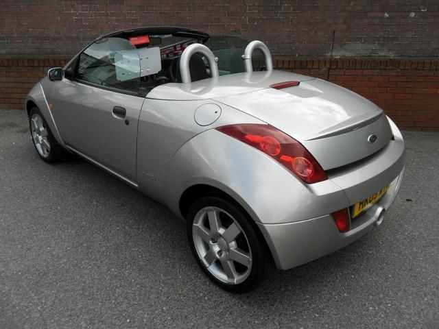 Used Ford Streetka 2005 Petrol 1.6i 2dr Excellent Service Convertible ...
