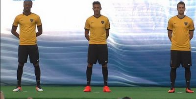 camisetas de futbol online 2018: Camiseta Malaga 2018