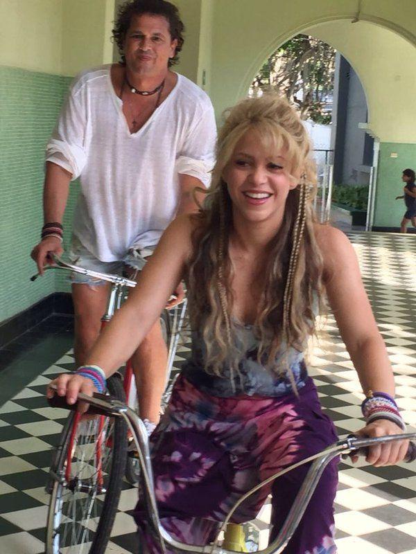 "This video is going to be epic! ◘  Este video va a ser épico. ""La Bicicleta"" Shakira, Carlos Vives y Sony Music Colombia ◘ 20/05/2016"