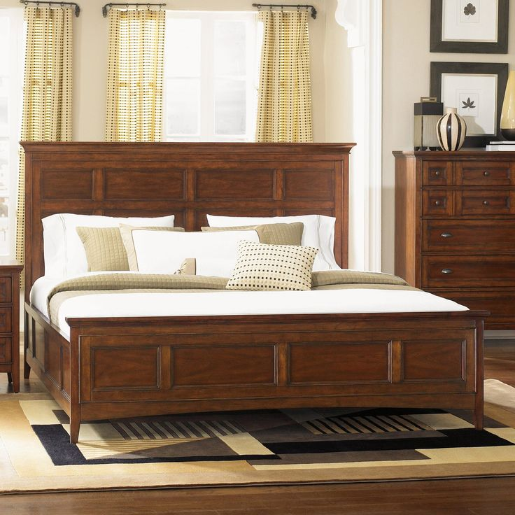 Great Harrison Low Profile Bed Set | From Hayneedle.com
