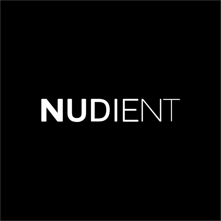 Logo for Nudient Cases. www.nudient.com