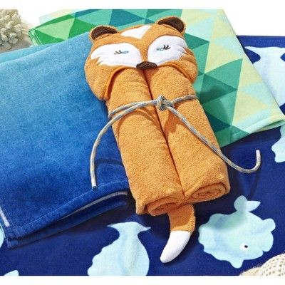 Circo® Fox Hooded Towel : Target Mobile