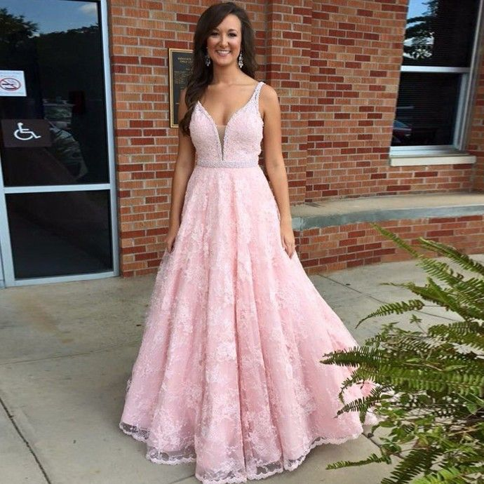 New Arrival Long Prom Dress,Sexy Appliques Evening Dress,A Line Prom Dresses,Formal Dress,Wedding Party Dress by fancygirldress, $189.00 USD