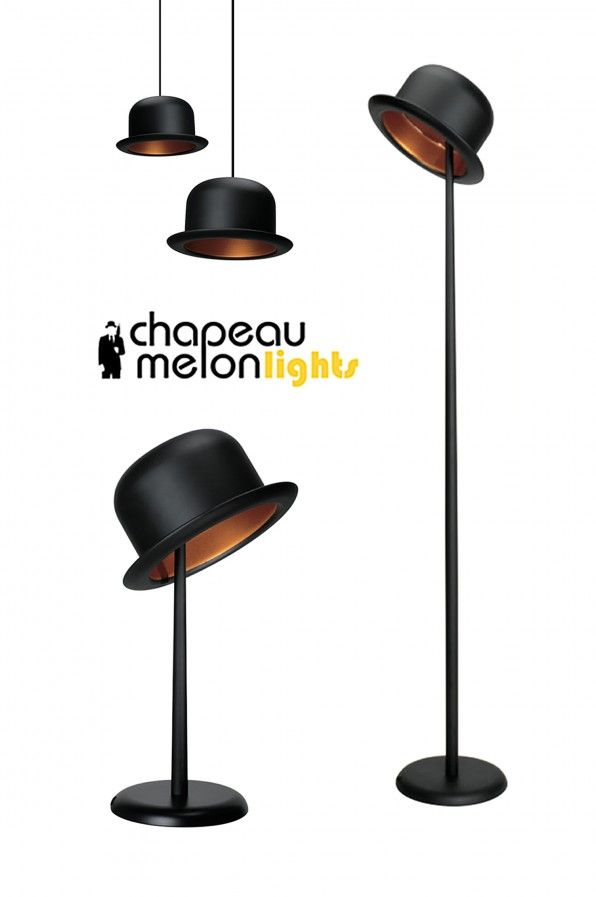 Chapeau Melon lights