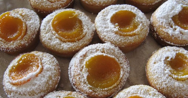 Donna Hay's apricot and vanilla friands