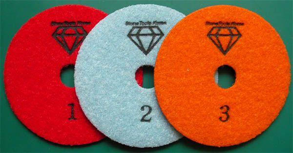 3 Step Dry Polishing Pad made by RM Tech Korea (StoneTools Korea®) provides the…