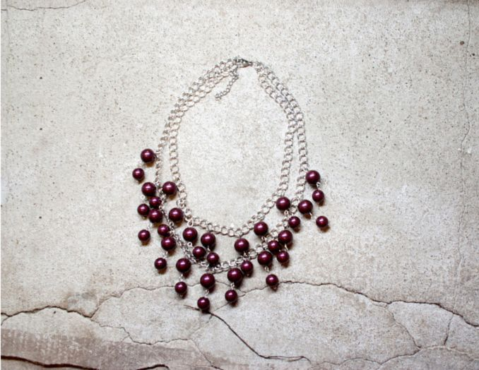 Caroline necklace- New collections and new website coming soon!