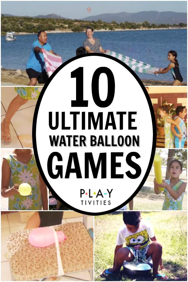 Ultimate Water Balloon Games. PART 1. These water balloon games are perfect for summer camp, family reunion or simply backyard fun on a hot summer day