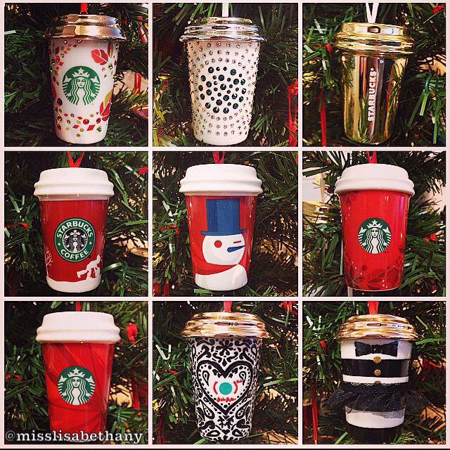 Starbucks Holiday Ornaments #Starbucks
