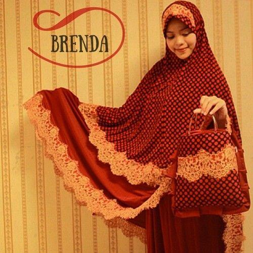Mukena Cantik Brenda Merah, Mukena Terbaru, Mukena Syar'i - Azkania | Yukbisnis