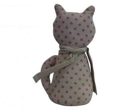 Cat Grey Ajtótámasz