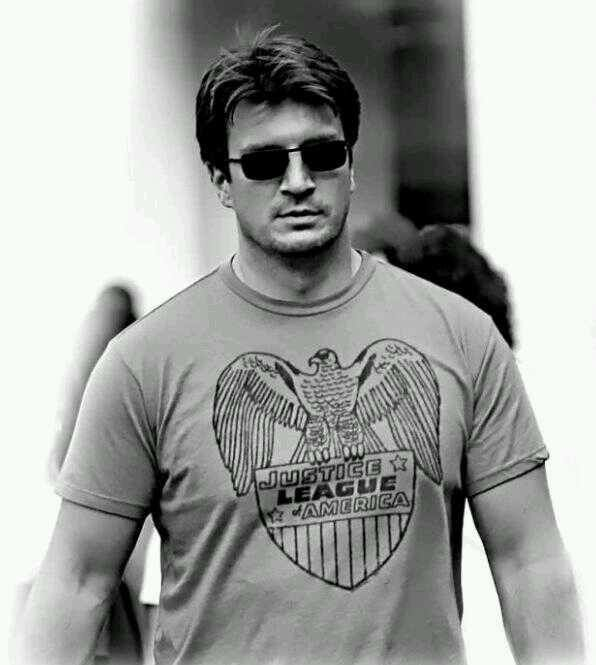 Nathan Fillion. Mmmmmm!